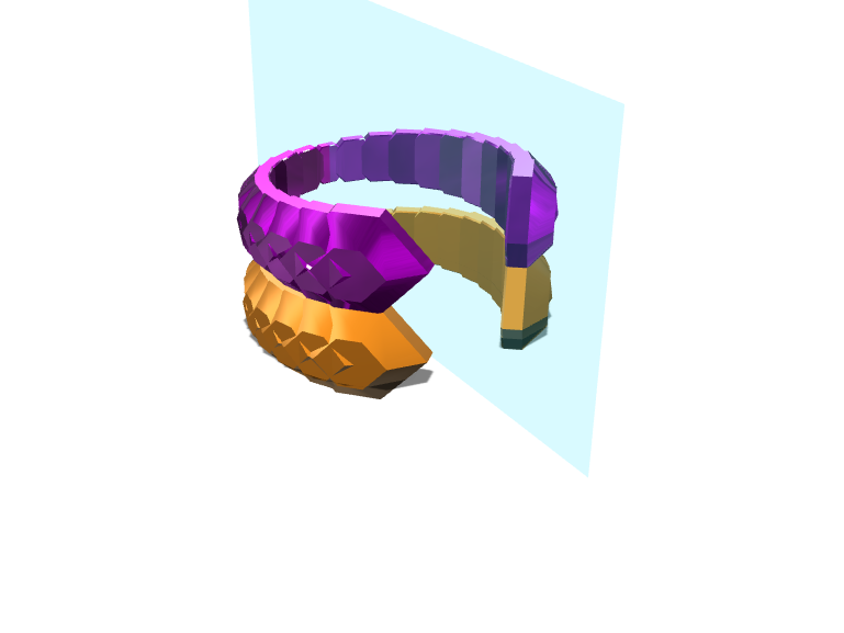 djart3's double ring jewlery - 3D design by wbfnitzj19 Dec 3, 2017