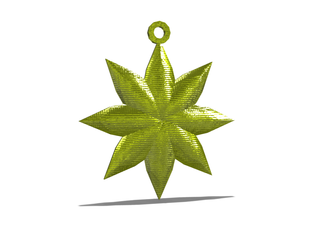 Star Christmas Decoration - 3D design by Jimmy Messer Nov 21, 2017