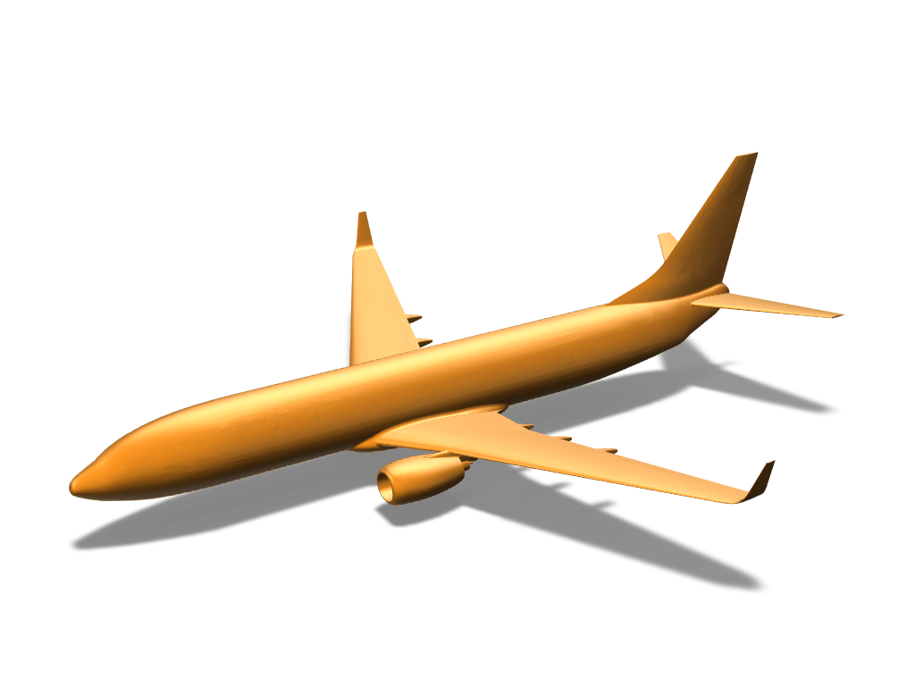 Airplane - 3D design by Nedelcho Kralev on Mar 14, 2018