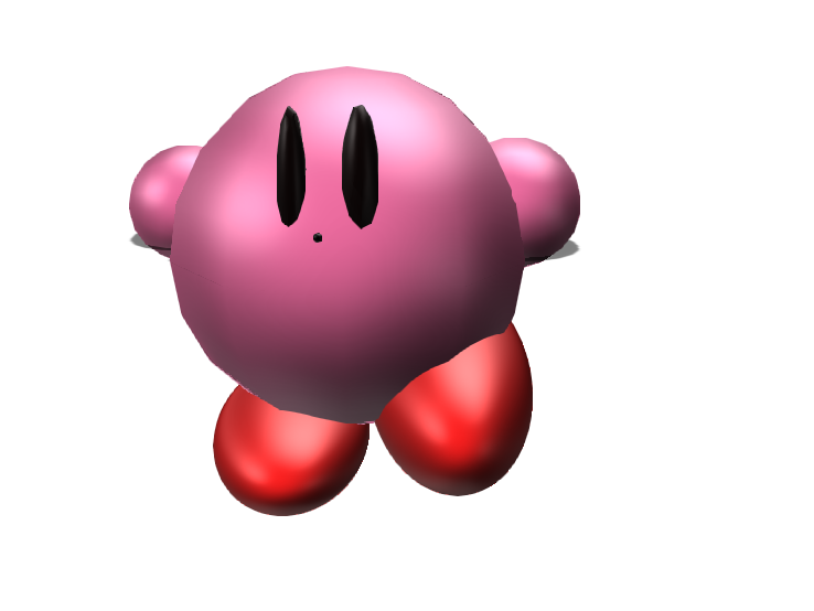 Kirby - 3D design by Samimation Fish May 10, 2018