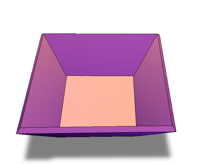 beveled edges - 3D design by bdubwatson17 on Feb 17, 2018