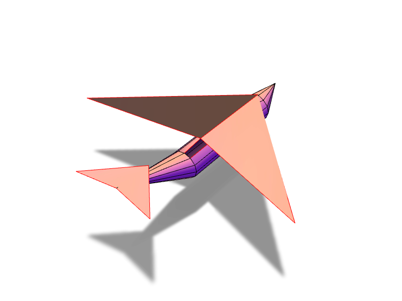 Plane - 3D design by awinter.22 Nov 20, 2017