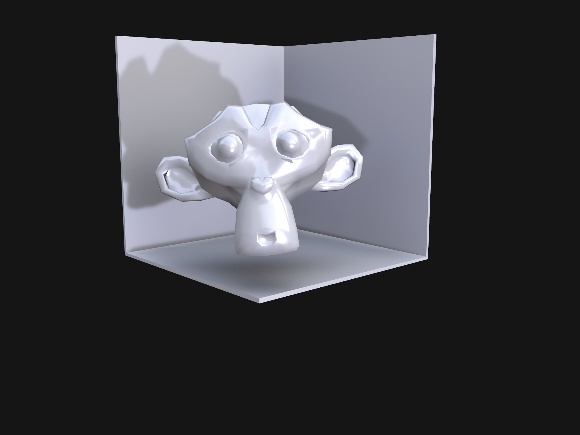 Monkey Test 3D (copy) - 3D design by Jimmy Gunawan Dec 21, 2018
