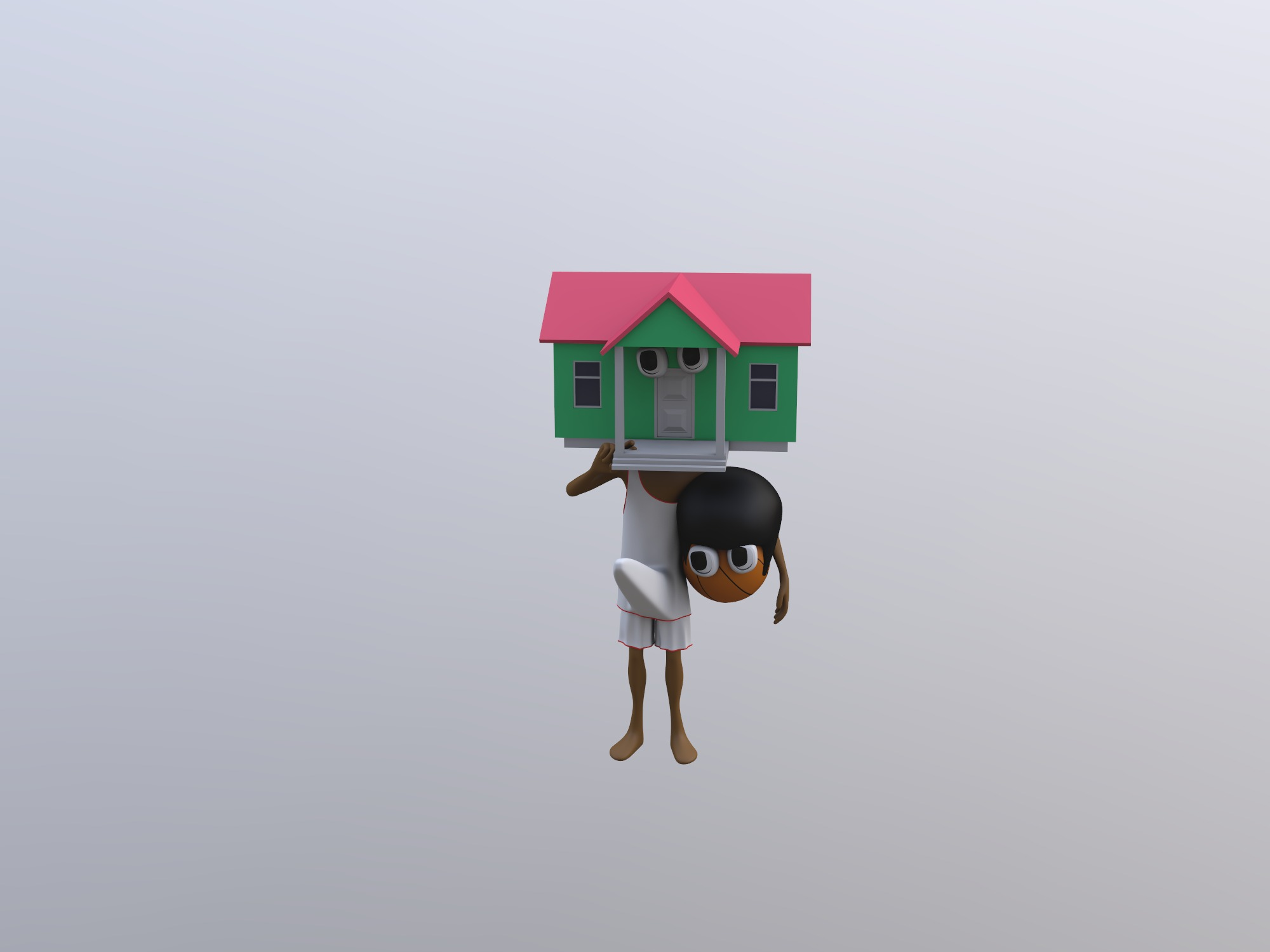 Brandon the house erected - 3D design by Mr judía 666 on Nov 13, 2018