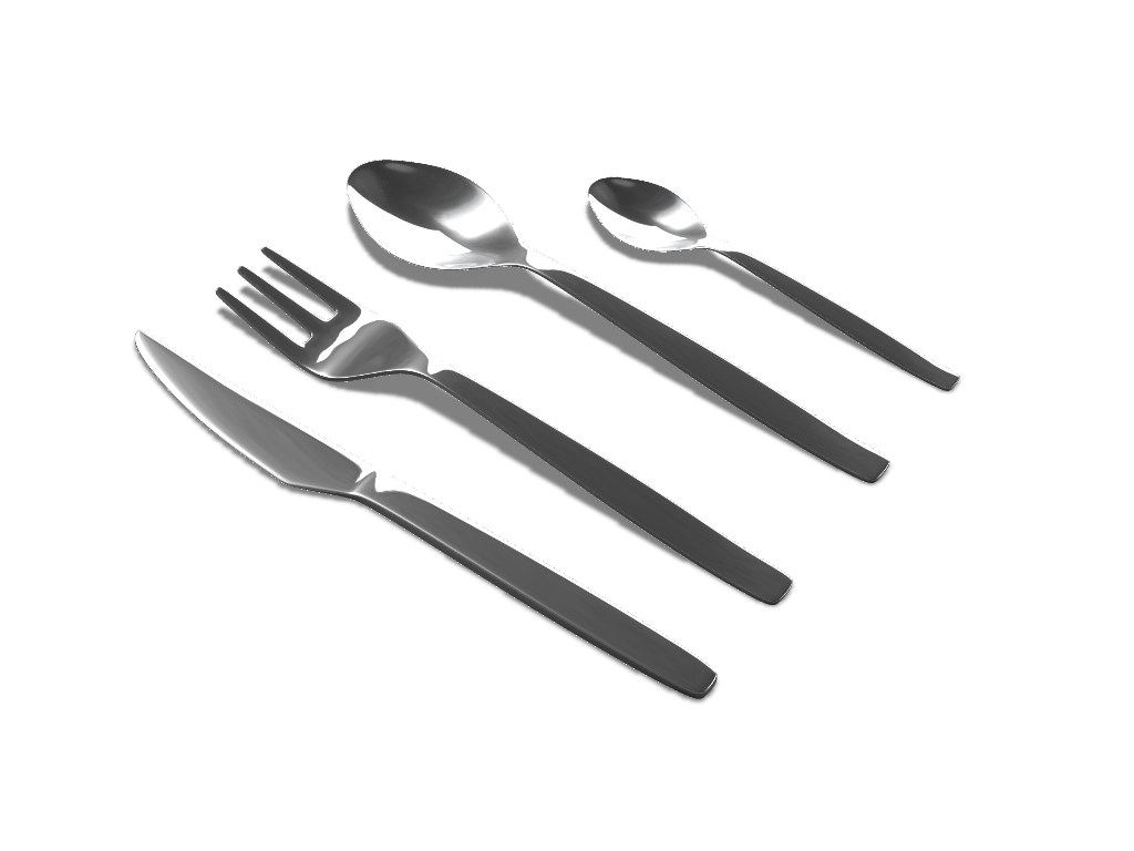 Flatware set - 3D design by Adrian Oct 3, 2016