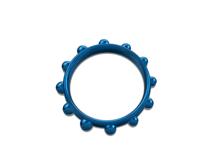 blue bracet - 3D design by 06483 on Feb 11, 2018