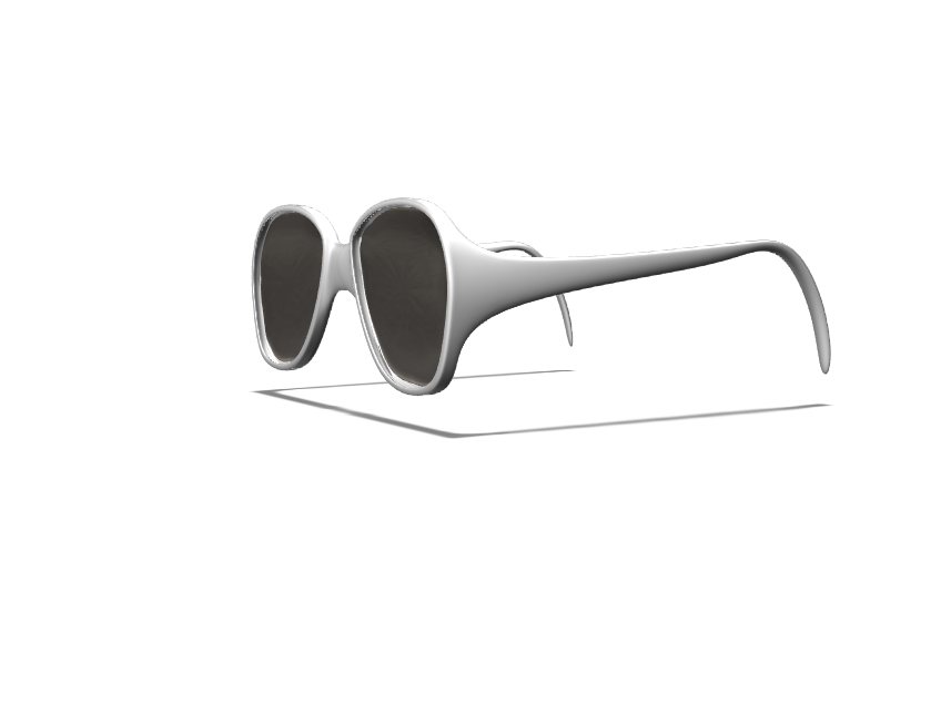 Sunglasses - 3D design by Jacey Chen on Feb 22, 2018