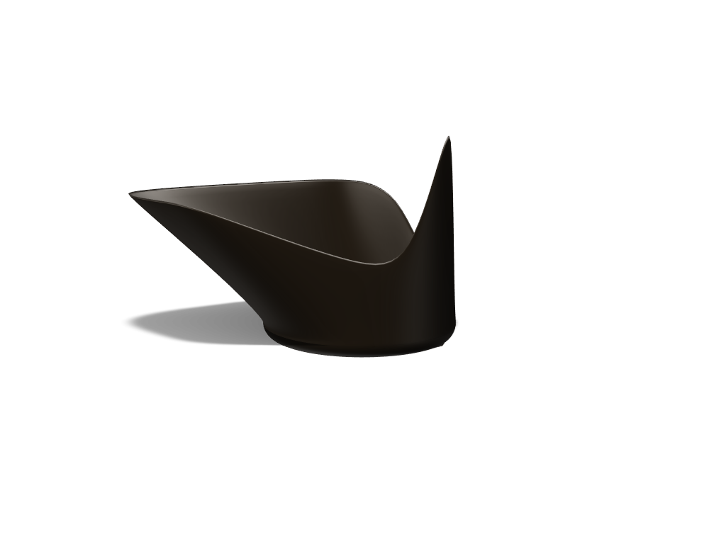 Modern Black Bowl - 3D design by JakePaulOffical Dec 14, 2017
