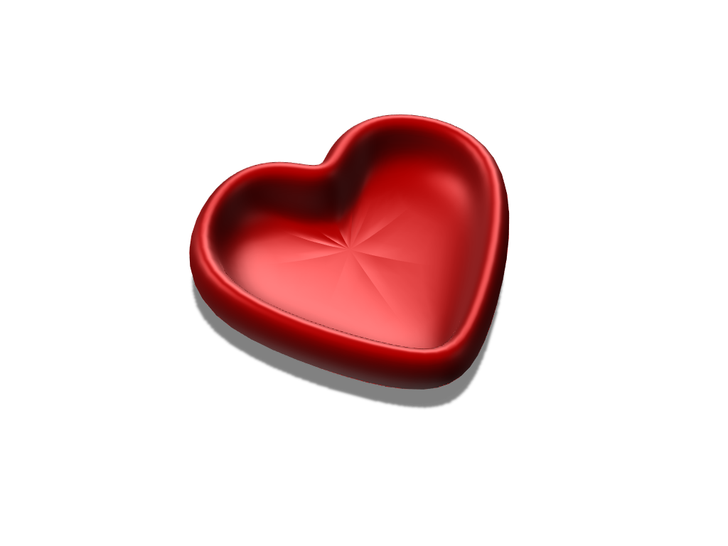 heart - 3D design by jsacksdesign May 27, 2018