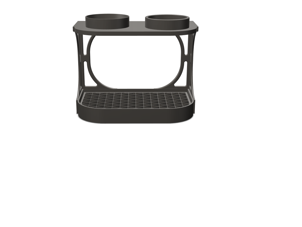 AeroPress Stand - 3D design by Larry Strunk on Mar 20, 2018