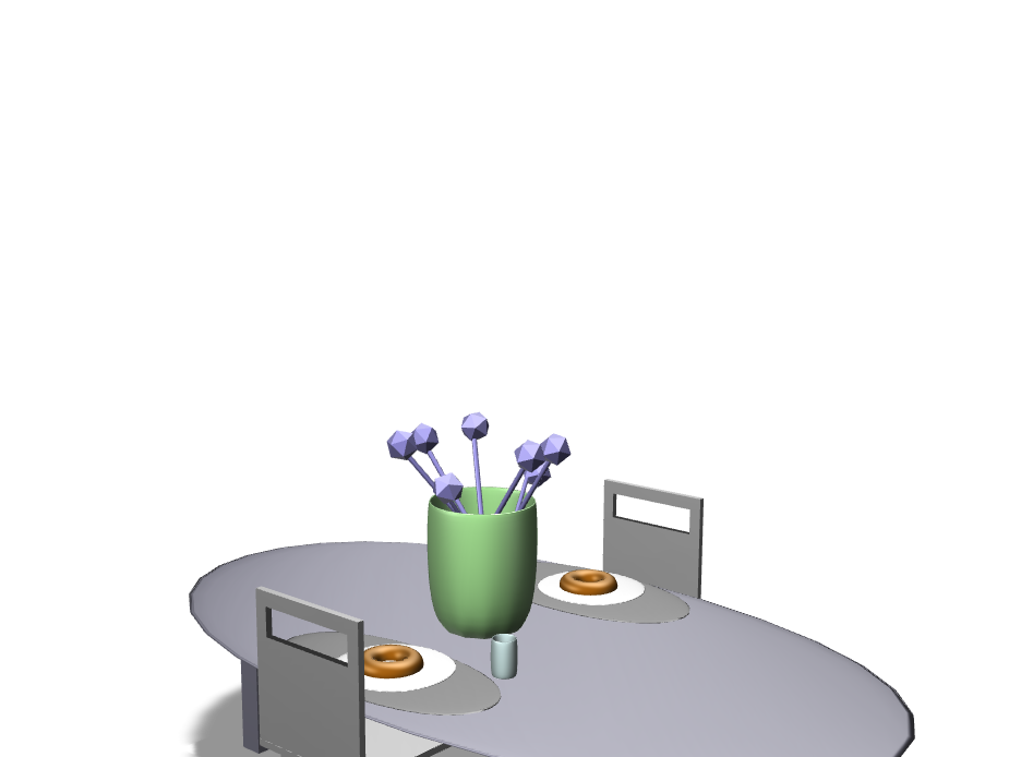 A table and a Chair - Martina Boga - 3D design by mboga21 Nov 10, 2017