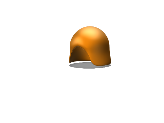 casco - 3D design by José Manuel Naveiro Jan 15, 2018