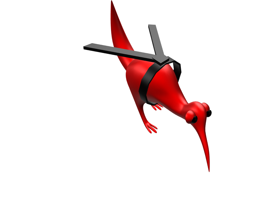 blackbelt kiwi - 3D design by mmaurice01 on May 7, 2018
