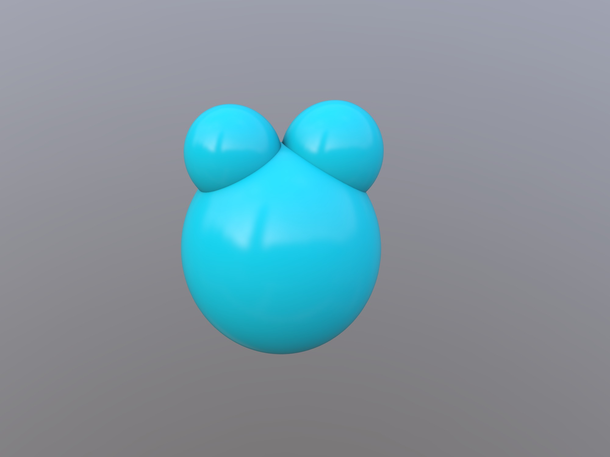 water molecule (copy) - 3D design by 970067485 on Jan 17, 2019