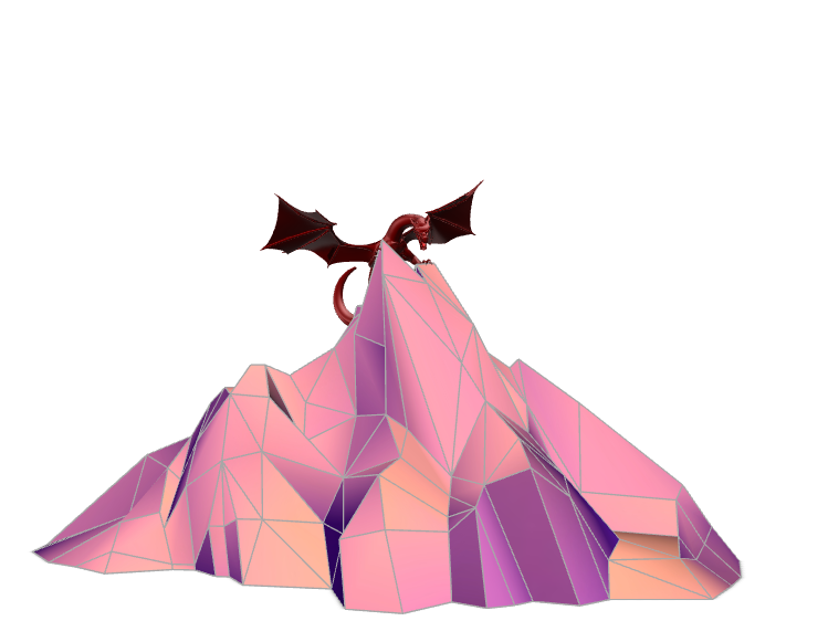 Dragon - 3D design by ChickenLord on May 10, 2018