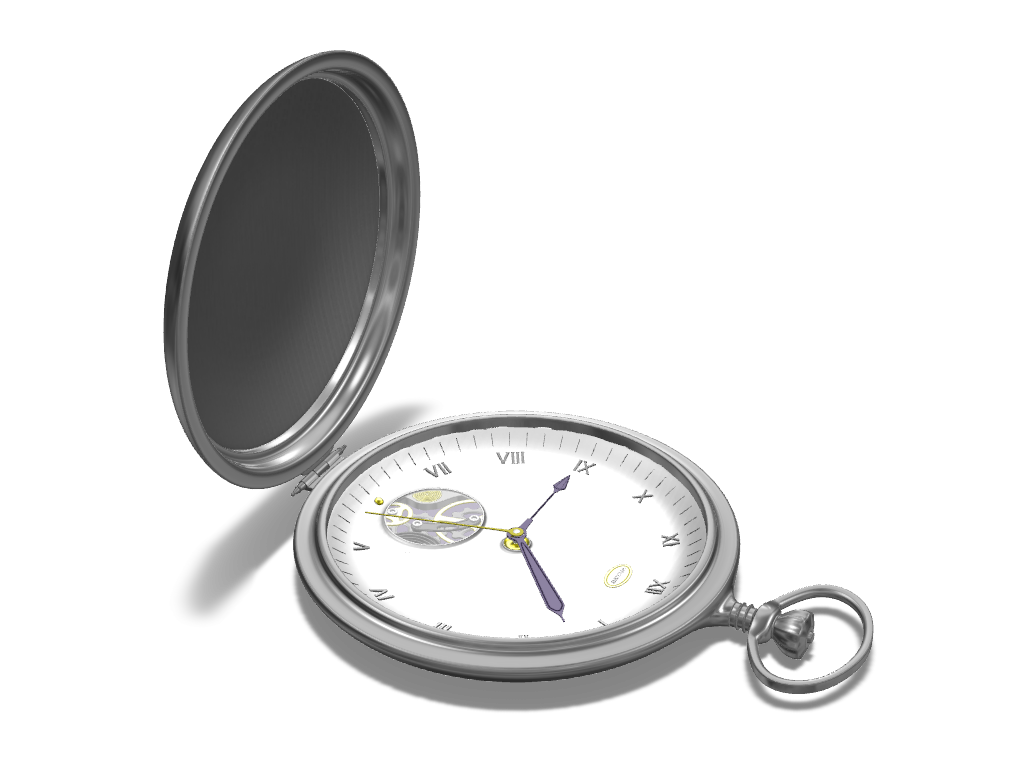 Pocket watch - 3D design by Adrian Jan 9, 2017