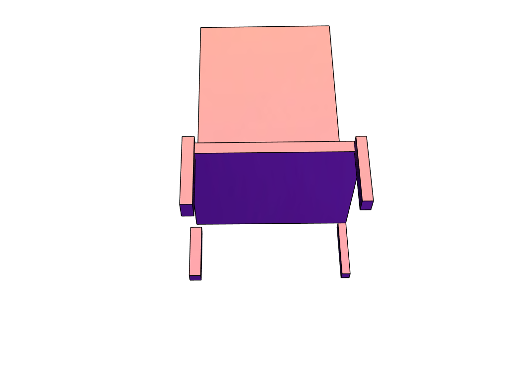 my VERY stable chair :3 - 3D design by G0ldenGunz Jun 6, 2018