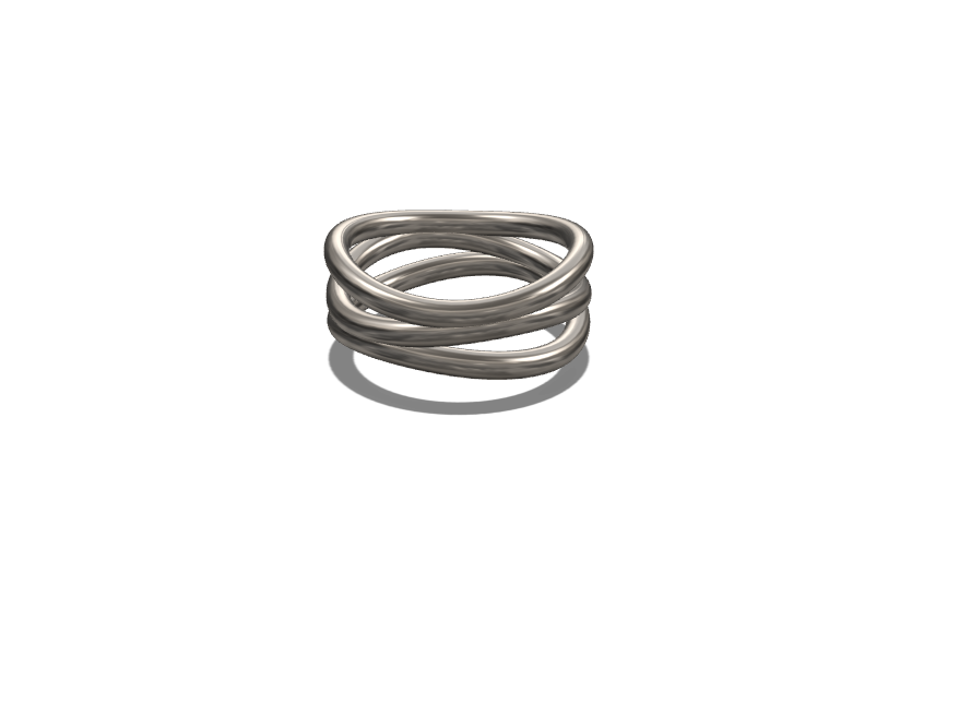 Bague - 3D design by Eric Van Renterghem on Feb 12, 2018
