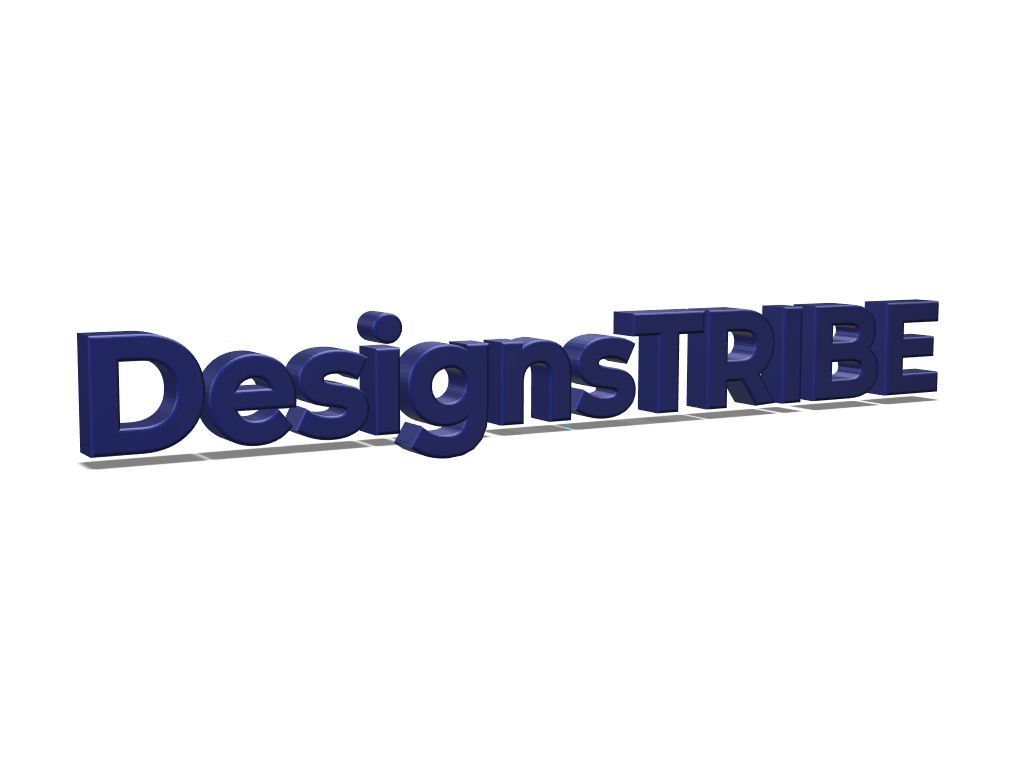 DesignsTribe - 3D design by Arsalan Hanif May 2, 2018