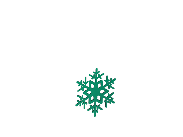 Snowflake template using Noun Project - 3D design by darcy.lefever.2023 Dec 13, 2017