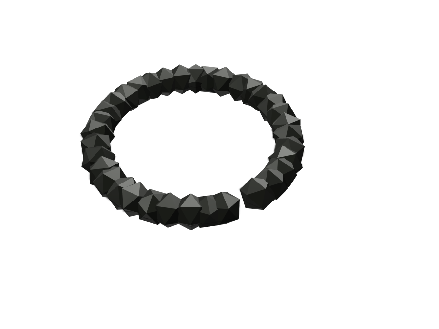 The Deca Bracelet  - 3D design by Hardik Prajapati May 30, 2017