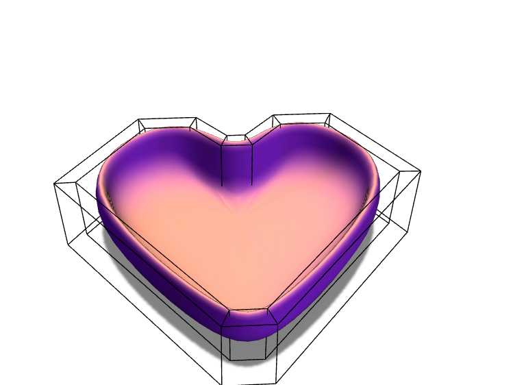 heart bowl - 3D design by emiguel2 May 8, 2018