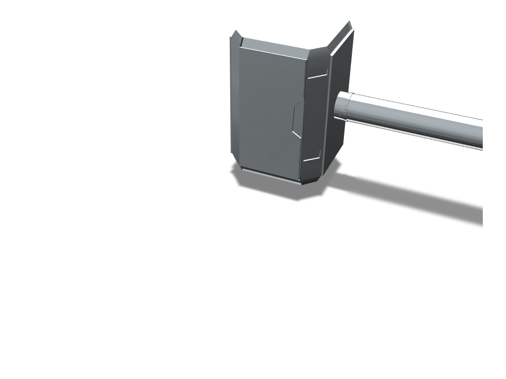 Mjölnir - 3D design by s20171329 on May 15, 2018