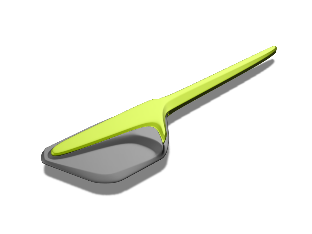 Silicone spatula - 3D design by Johnnyal Jul 29, 2016