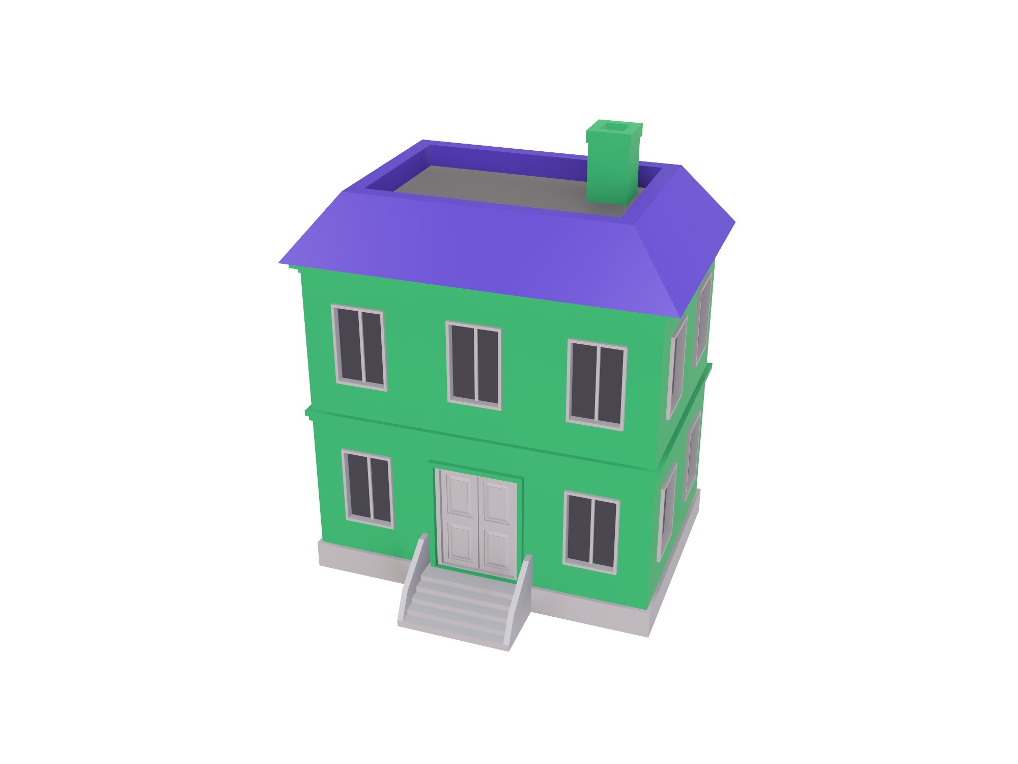 House - 3D design by assets Jun 4, 2018