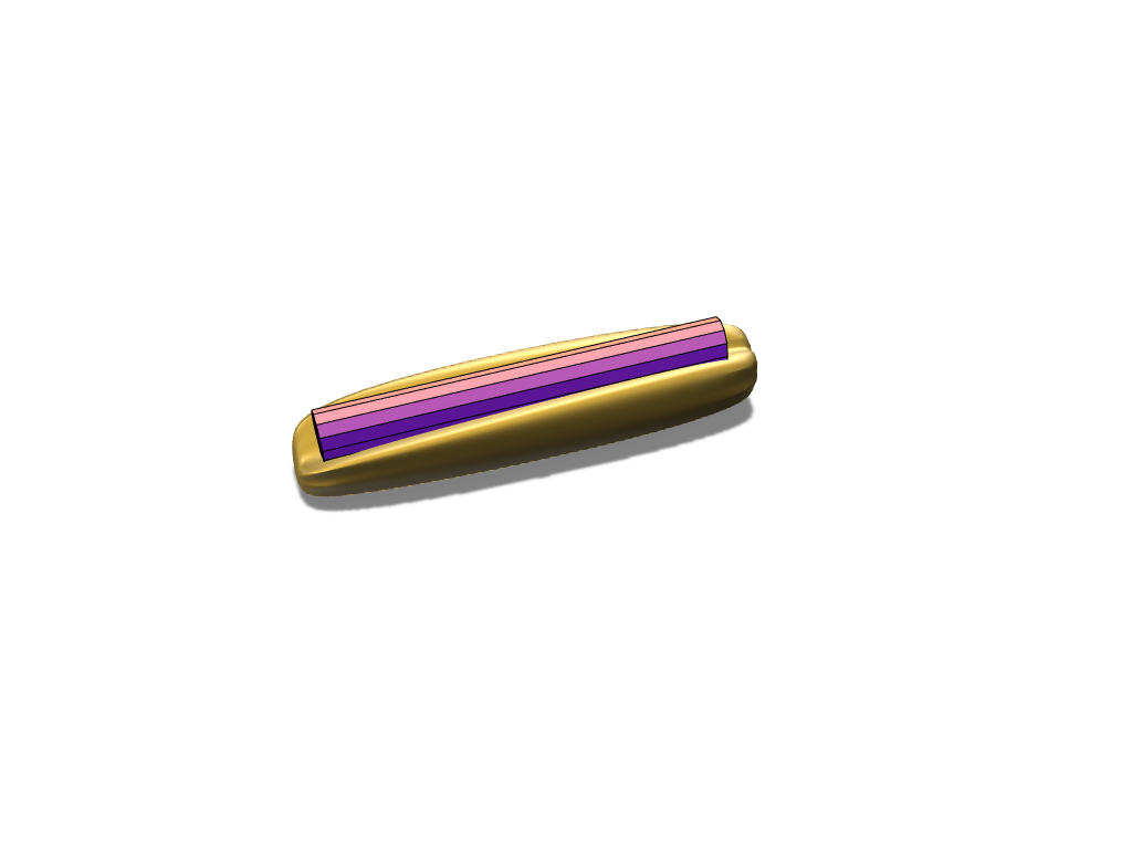 Hot Dog - 3D design by Mr. BigBody on Mar 27, 2018