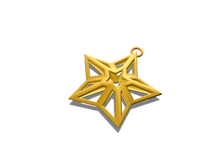 Christmas Star - 3D design by Luis on Nov 28, 2017