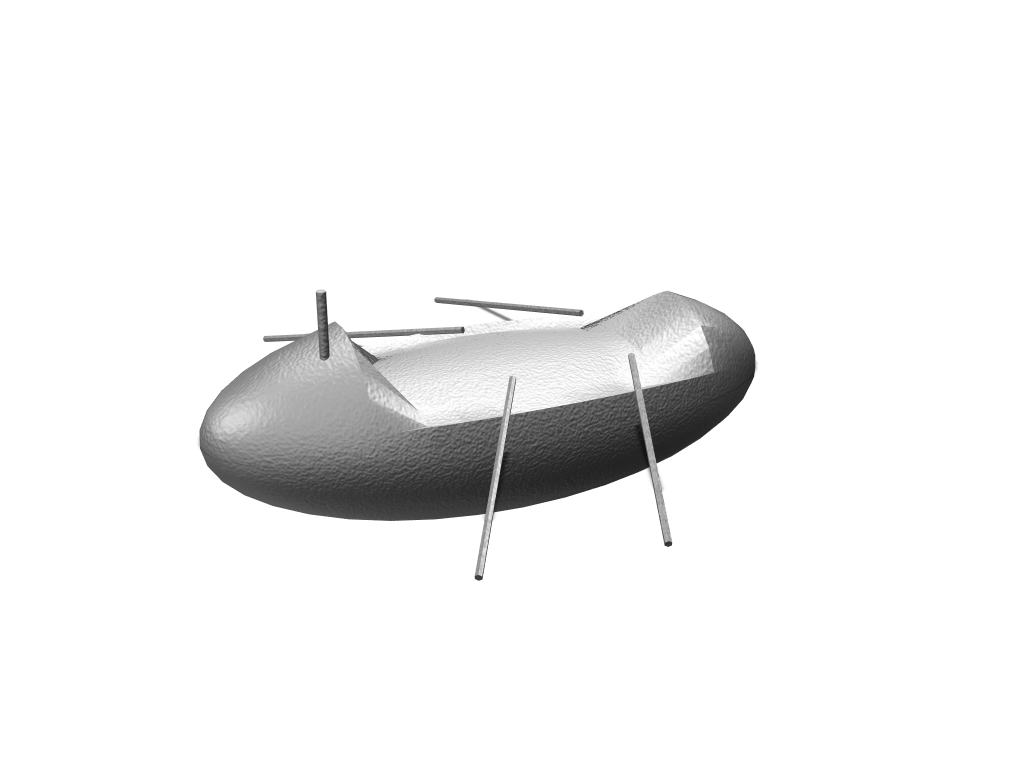 Ocean Rowing Boat - 3D design by jack.hopkins Oct 6, 2017