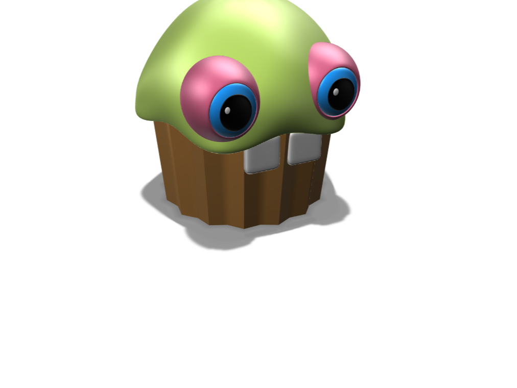 Fnaf cupcake - 3D design by Mei-Chuan Chen May 10, 2018