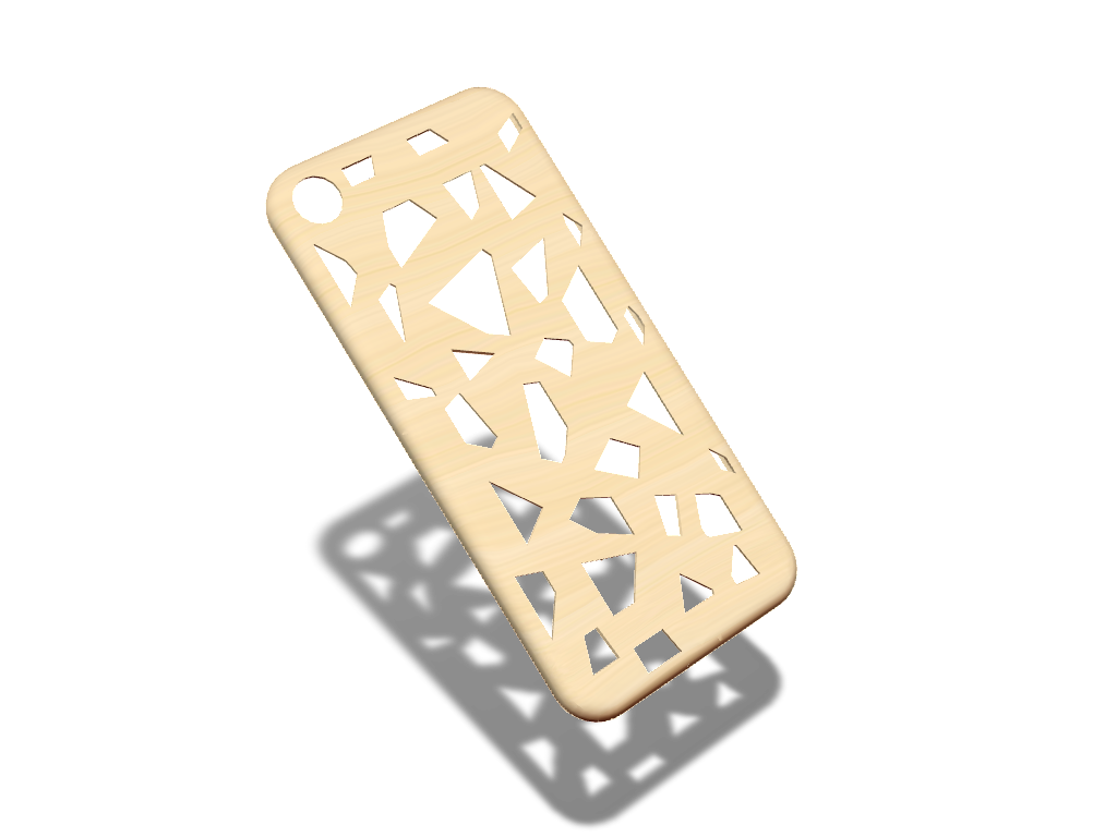 iPhone 7 Voronoi texture case - 3D design by federicotonini Aug 27, 2017