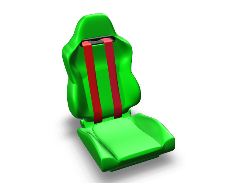 Sport seat - 3D design by cicig0901 on May 19, 2018