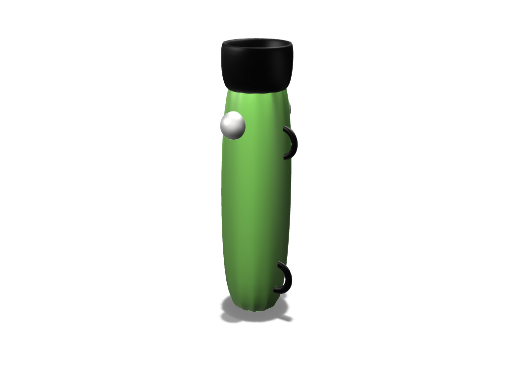 the stopper popper - 3D design by brendon.nathanael Nov 16, 2017