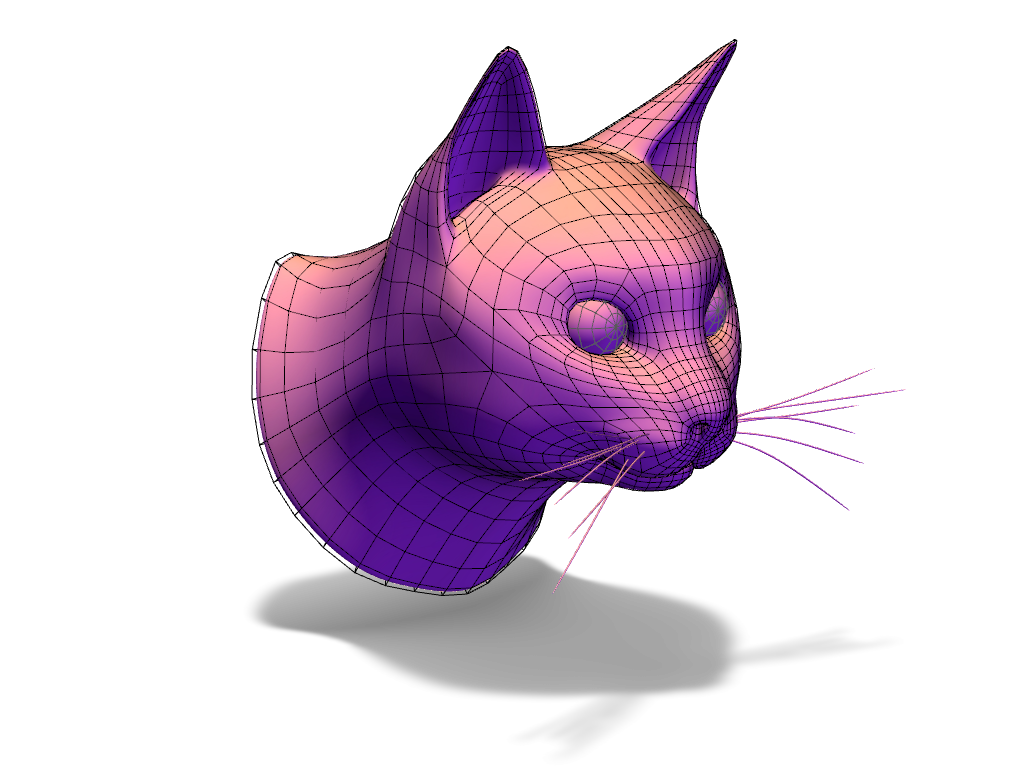 CAT - 3D design by Adrian on Nov 25, 2016