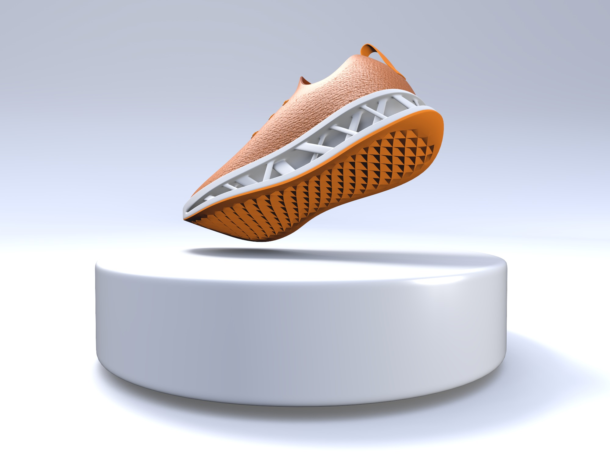 Running Sneaker - 3D design by VECTARY on Aug 1, 2018