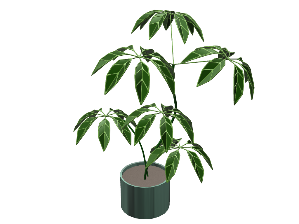 Rastlinka - The Plant - 3D design by ivka Mar 11, 2017