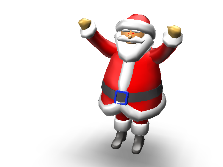 Santa Clause - 3D design by Anwar Grt Nov 24, 2017