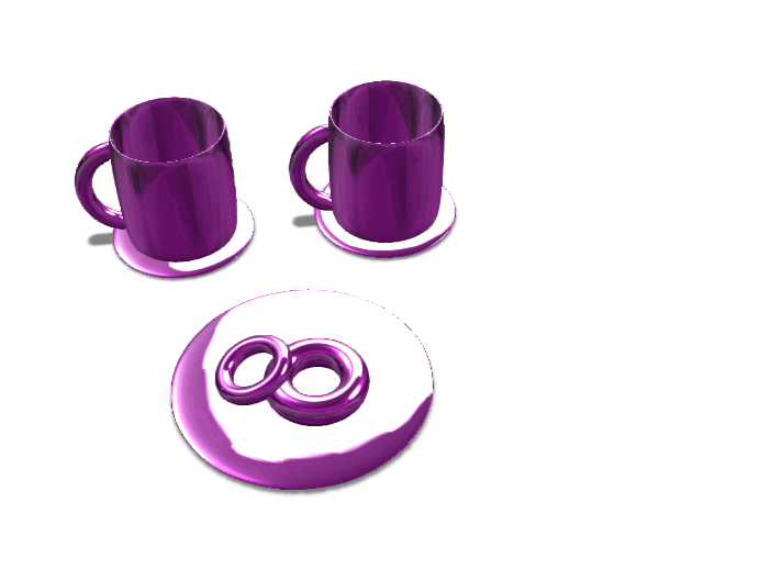 Breakfast Time - 3D design by 24conleyel Dec 14, 2017
