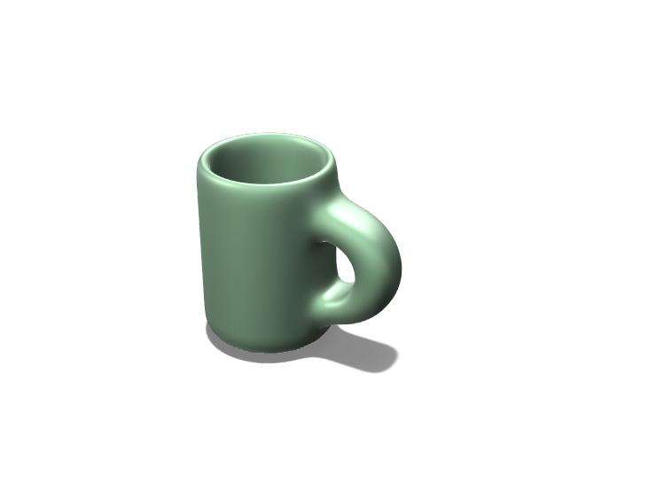 My First Mug - 3D design by sharayu.deo on Mar 23, 2018