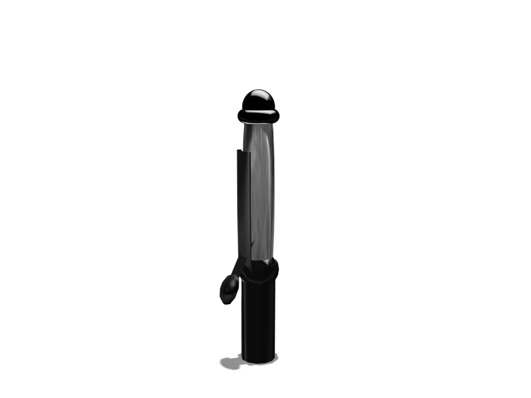 Curling Iron - 3D design by Ashton Koval on Mar 7, 2018