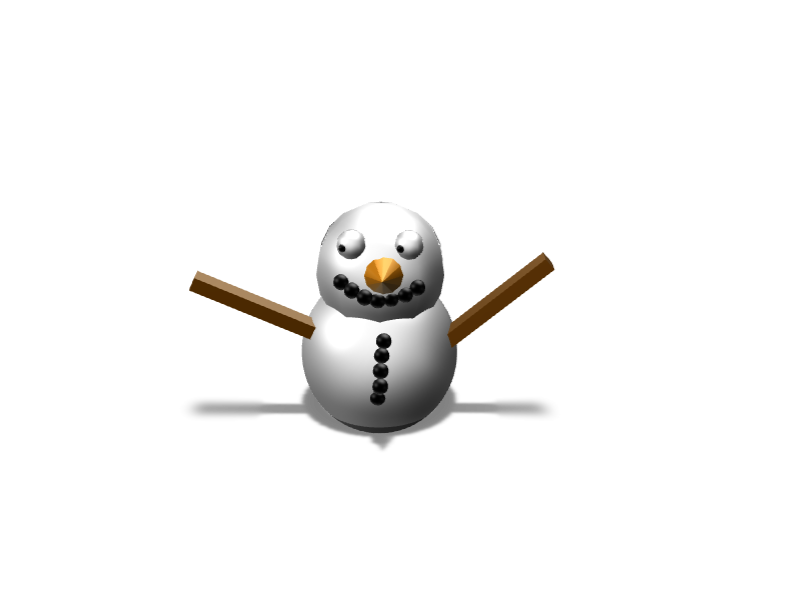 snowman vs2 - 3D design by Mr judía 666 Nov 20, 2017