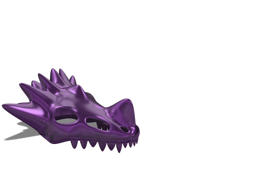 dragon skull - 3D design by Viper Jun 4, 2018