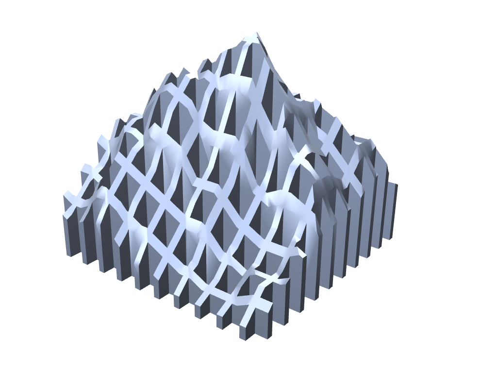 Matterhorn Vase - 3D design by Michal Fanta Sep 14, 2017