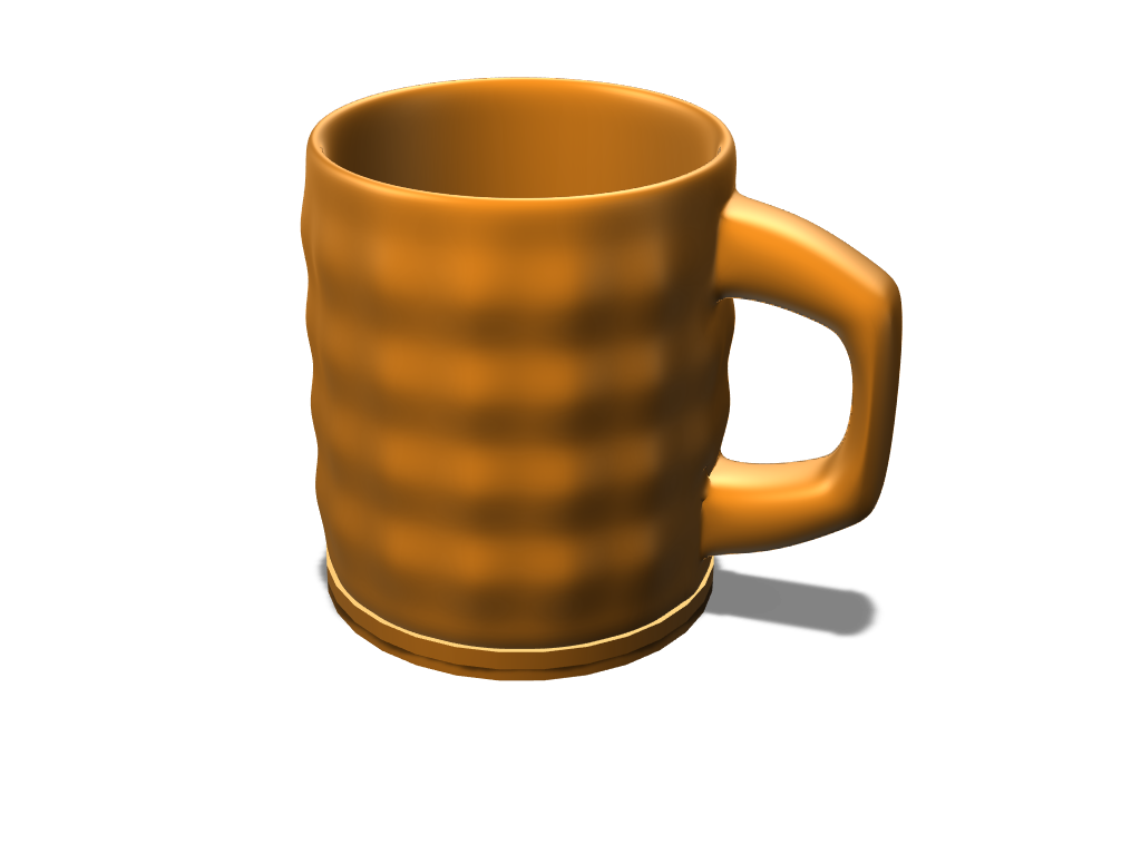 Random mug - 3D design by Arturs Berzins Jan 30, 2018