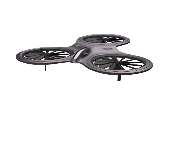 triplepropeled drone - 3D design by wbfnitzj19 Dec 5, 2017