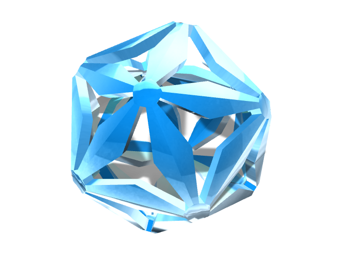 crystal  - 3D design by raccagnihayden Feb 9, 2018