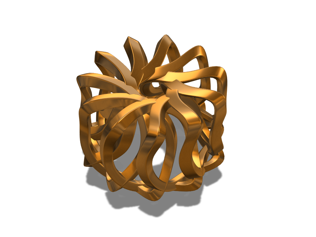Array bauble 3 - 3D design by fewowuzeco on Dec 20, 2017